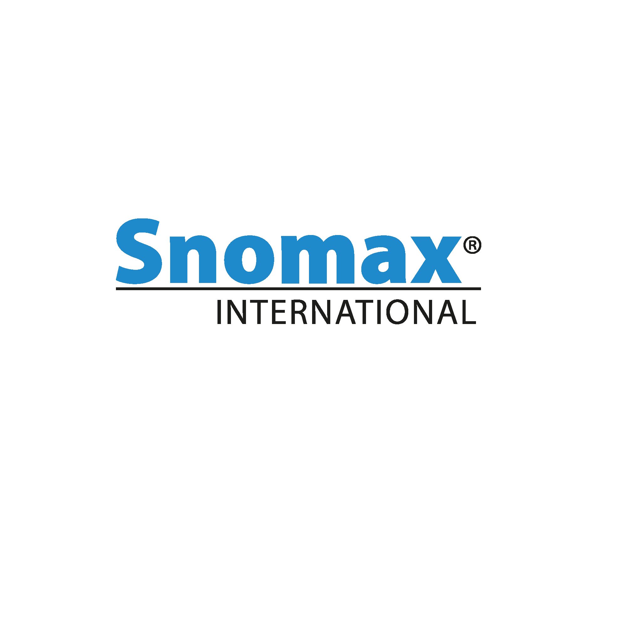 Snomax logo - Pantone 286 blue